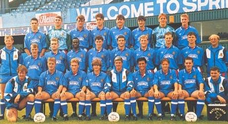 Team Pic 1991 - 1992