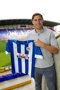 Grant Holt - Wigan shirt