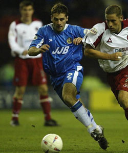 Paul Mitchell in action for Wigan
